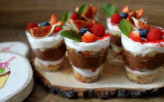 Лучшие 14 рецептов жидкого десерта – трайфла в стаканчиках