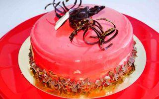 Цветная глазурь для торта — все краски радуги