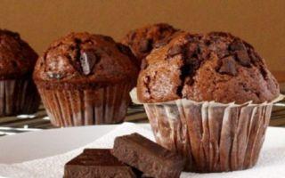 Узнайте лучшие рецепты шоколадных маффинов пошагово с фото
