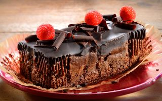 Двойной шоколад; торты, капкейки, выпечка, напитки, мороженое