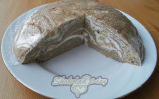 Творожный десерт без выпекания «Сказочные узоры»