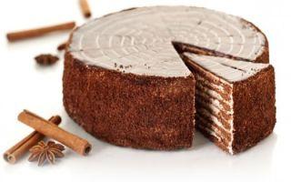 Торт «Спартак» классический рецепт
