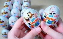 «Киндер-сюрприз» шоколадные яйца