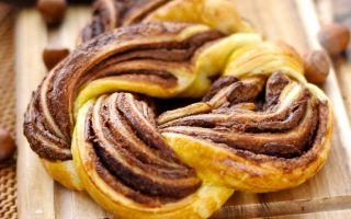 Готовим очень вкусные, воздушные слойки с шоколадом, с бананом