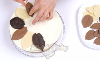 Воздушный муссовый торт «Три шоколада»