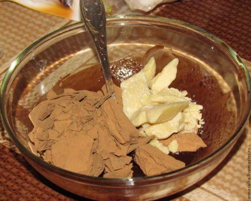 Шоколадное масло в домашних условиях