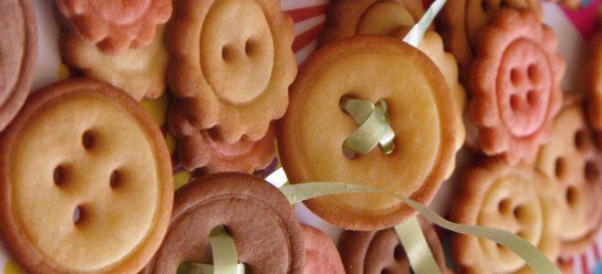 Как приготовить печенье «Съедобные пуговки»