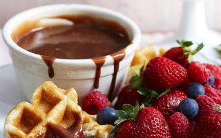 Шоколадное фондю: 9 рецептов в фондюшнице и без нее в домашних условиях