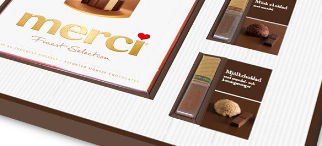 Шоколадные конфеты Мерси