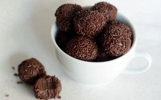 Узнайте как приготовить бразильские конфеты «Бригадейро» в домашних условиях
