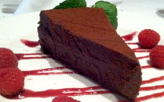 Шоколадный торт-мусс: рецепт в домашних условиях