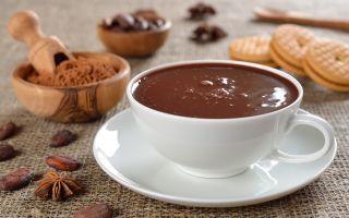 Сколько калорий в горячем шоколаде? Польза и вред