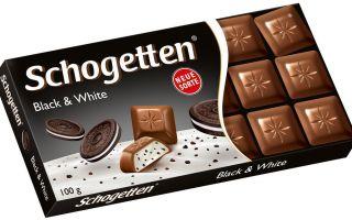 Все о немецком шоколаде Schogetten