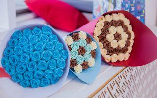 Розы из шоколада: 5 идей для шоколадного букета
