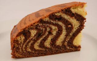 Готовим шоколадный кекс «Виноградная улитка»