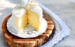 Узнайте 8 рецептов, как приготовить торт молочная девочка в домашних условиях