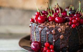 Божественный торт «Пьяная вишня в шоколаде»: рецепт с фото и видео