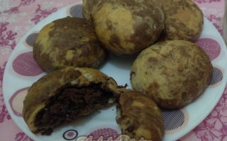 Песочное печенье «Мраморное»
