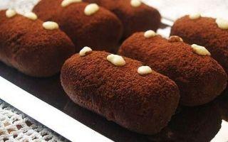 Шоколадная картошка рецепт