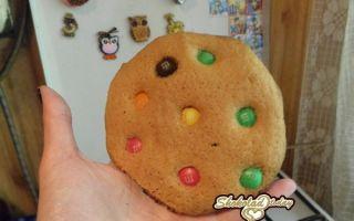 Как приготовить американское печенье с кусочками шоколада