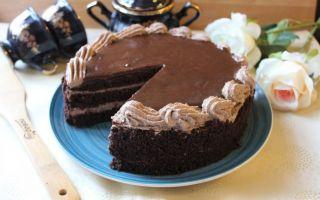 Вкусный и изысканный торт «Шоколадный бархат» – 4 рецепта