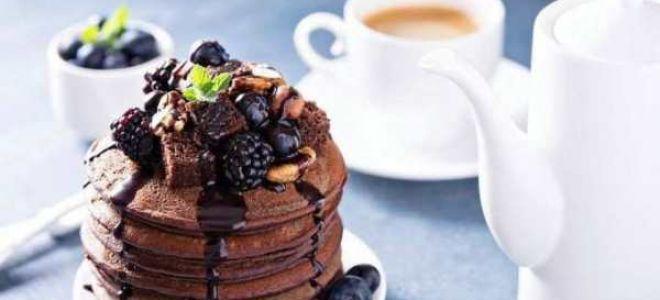Готовим шоколадные панкейки – 14 различных рецептов