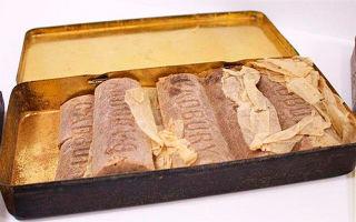 103-летний шоколад первой мировой войны будет продан на аукционе