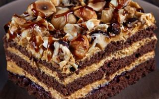 Вкусный торт шоколадный «Арабские сказки» с лимонным кремом