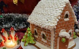 Готовим дома шоколадный пряничный домик своими руками