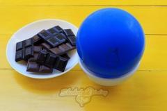 Шаг первый: ингредиенты для шоколадной чаши.