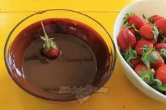 Шаг первый: ингредиенты для шоколадных цветов