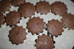 Маффины «Слива в шоколаде»