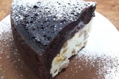 Творожно-шоколадная ватрушка «Черный принц».