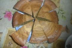 Шоколадный бисквит «Зебра»