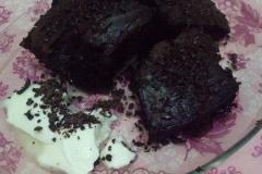 «Какаолу ислак кек» - турецкий мокрый кекс с какао.