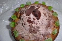 Фото 3. Творожный кекс с шоколадом «Шапка Мономаха».