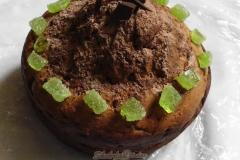 Фото 4. Творожный кекс с шоколадом «Шапка Мономаха».