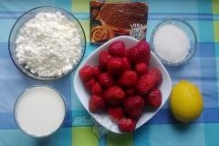Ингредиенты для творожного мусса
