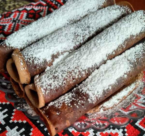 Фото shokoladnie blini recept 5.