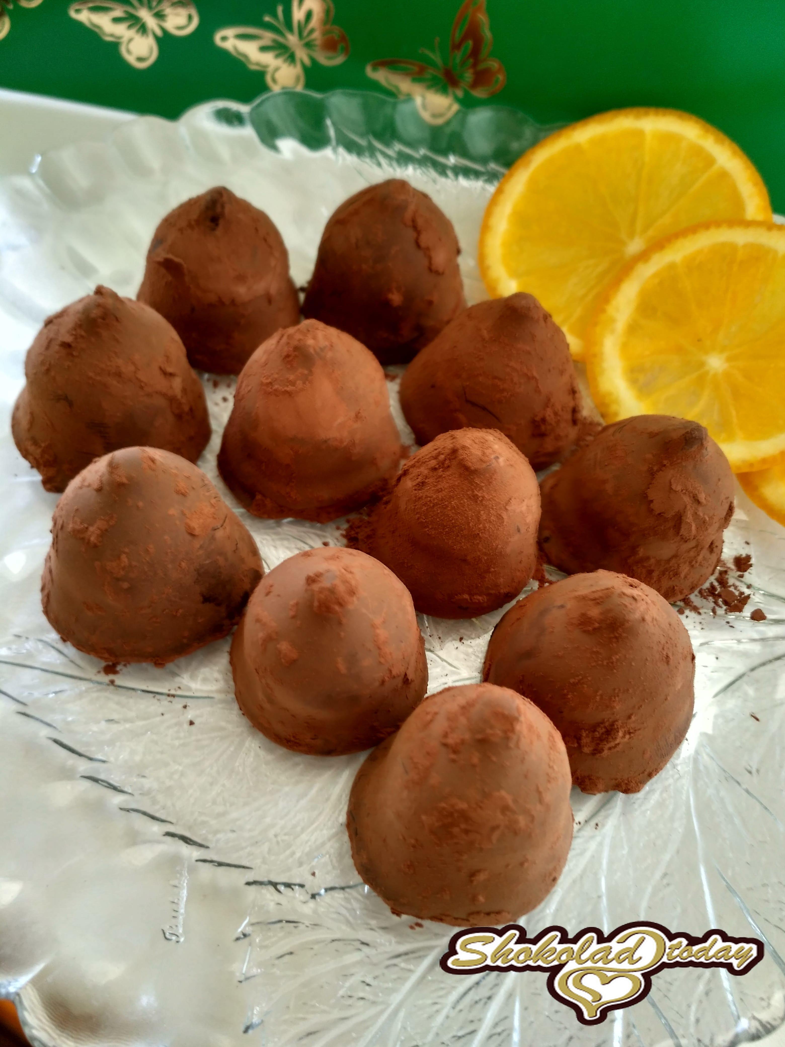 Шоколадный трюфель рецепт пошаговый