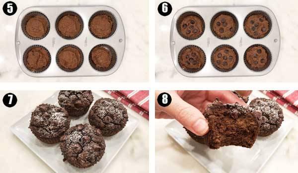 Фото chocolate muffins.