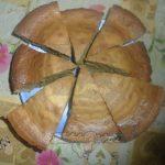 Шоколадный бисквит «Зебра».