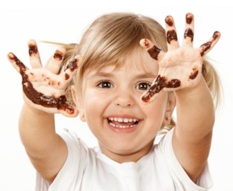 Девочка в соевом шоколаде.
