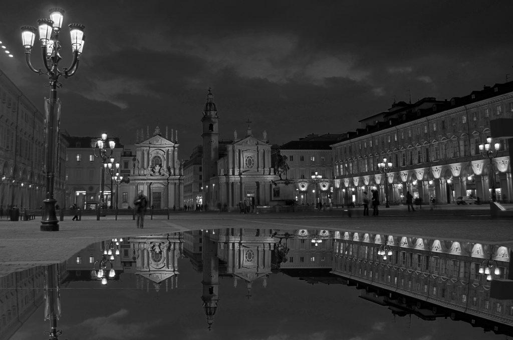 Ночной Турин