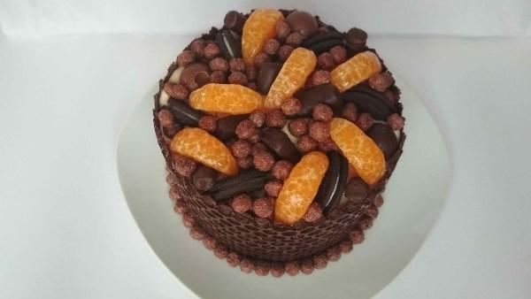 Фото tort s shokoladnim biskvitom 6.