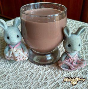 зайцы пьют какао