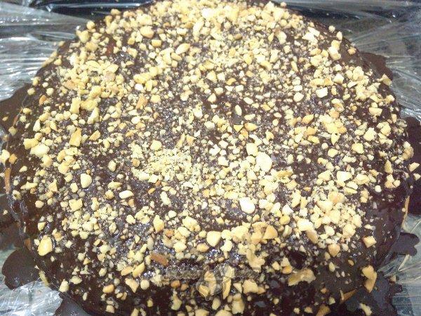 Фото biskvit s kusochkami shokolada 2.