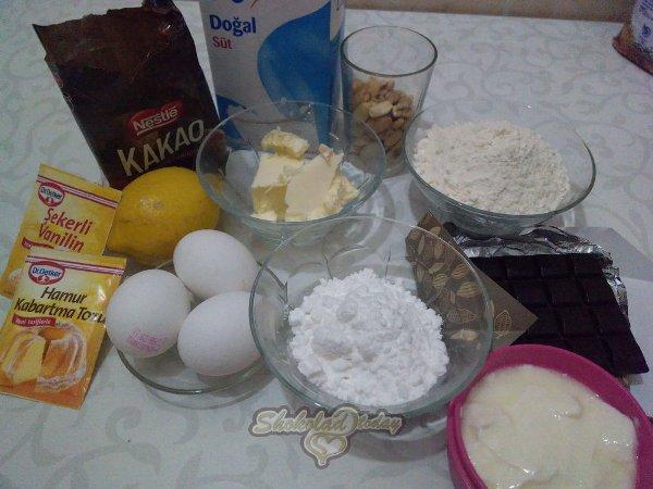 Фото biskvit s kusochkami shokolada 3.