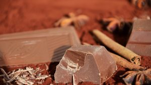 Фото 2. Черный шоколад.