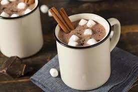Фото 2. Горячий шоколад в железной кружке.